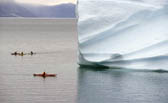 Iceberg & Kayakers